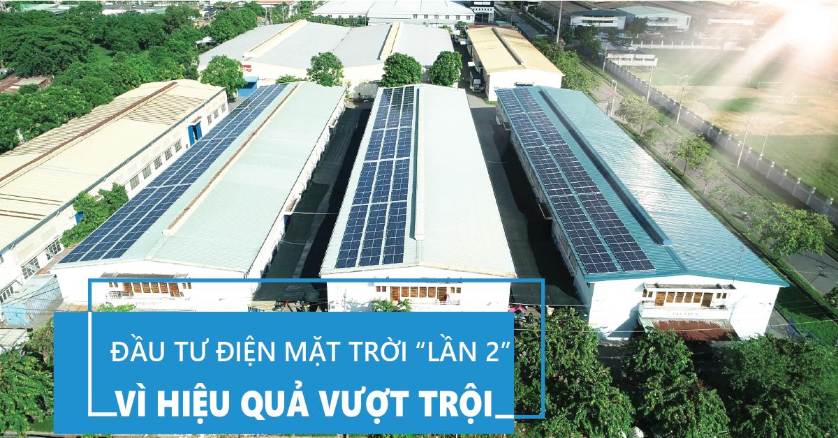 """Chuyện doanh nghiệp lắp thêm điện mặt trời """"lần 2"""" đang dần phổ biến"""
