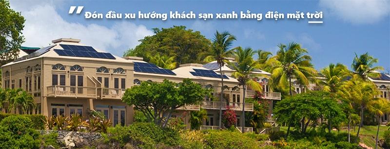 Điện mặt trời cho khách sạn