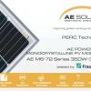 Tấm pin mặt trời AE Solar - Đức