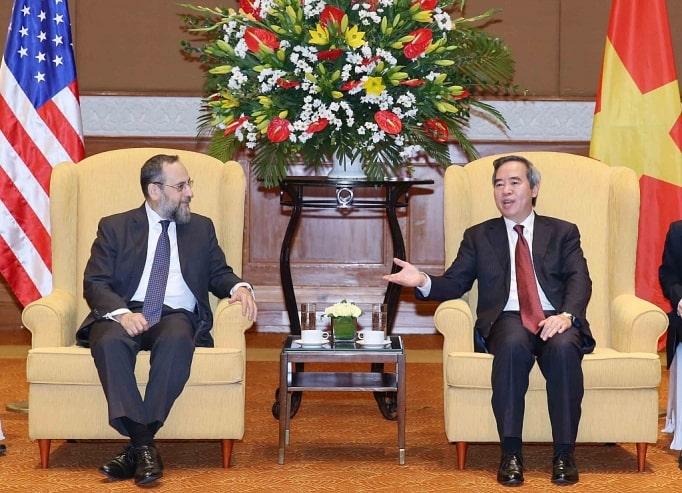 Hợp tác năng lượng giữa Việt Nam và Mỹ