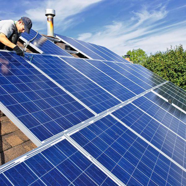 điện năng lượng mặt trời hòa lưới 3kw