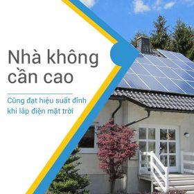 Lắp đặt Điện mặt trời áp mái - Vừa có điện dùng vừa có điện bán